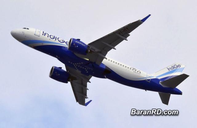 Un Airbus A320 de IndiGo Airlines (Pascal Pavani / AFP)