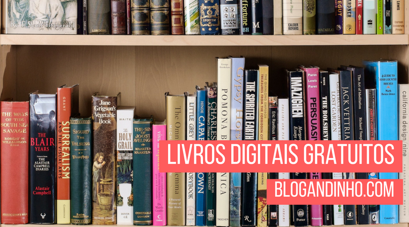 Sites e plataformas com downloads de livros digitais (eBooks) gratuitos.