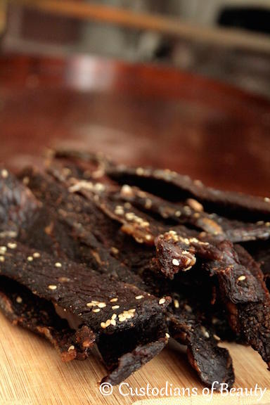 The Brother's Jerky |Recipe | by CustodiansofBeauty.blogspot.com