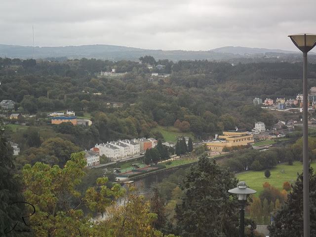 rio miño en otoño