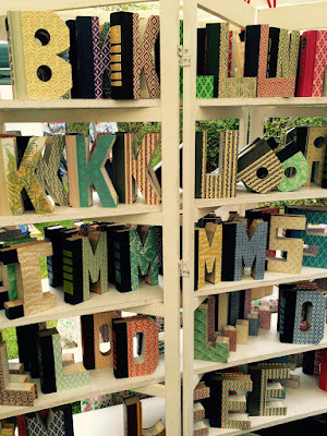 Summerville Flowertown Festival 2015 - Letter Books | The Lowcountry Lady