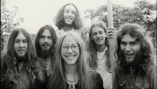Some early Resurrection Band. Tom Cameron, Jim Denton, Stu Heiss (Back) John Herrin, Glenn & Wendi.