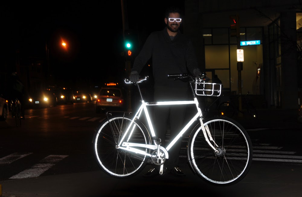 Glowing impressions a halo coated bicycle in action aloadofball Gallery