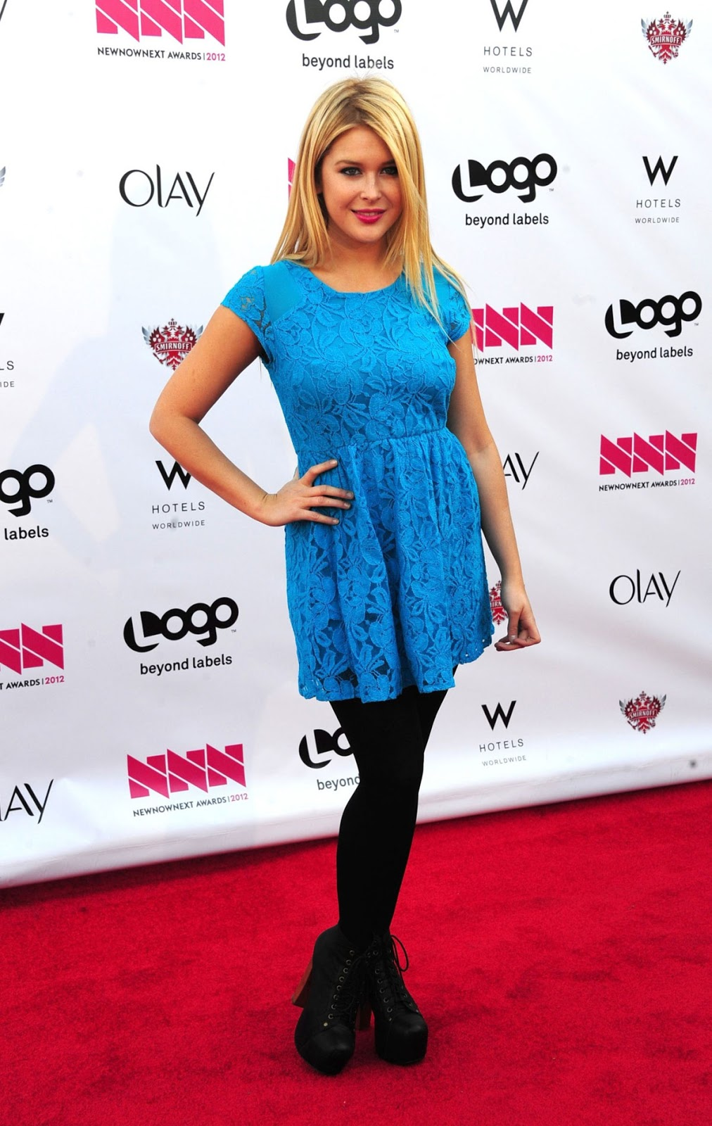 Renee Olstead At Logos New now next Awards 2012 In Hollywood