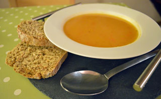 spicy squash soup