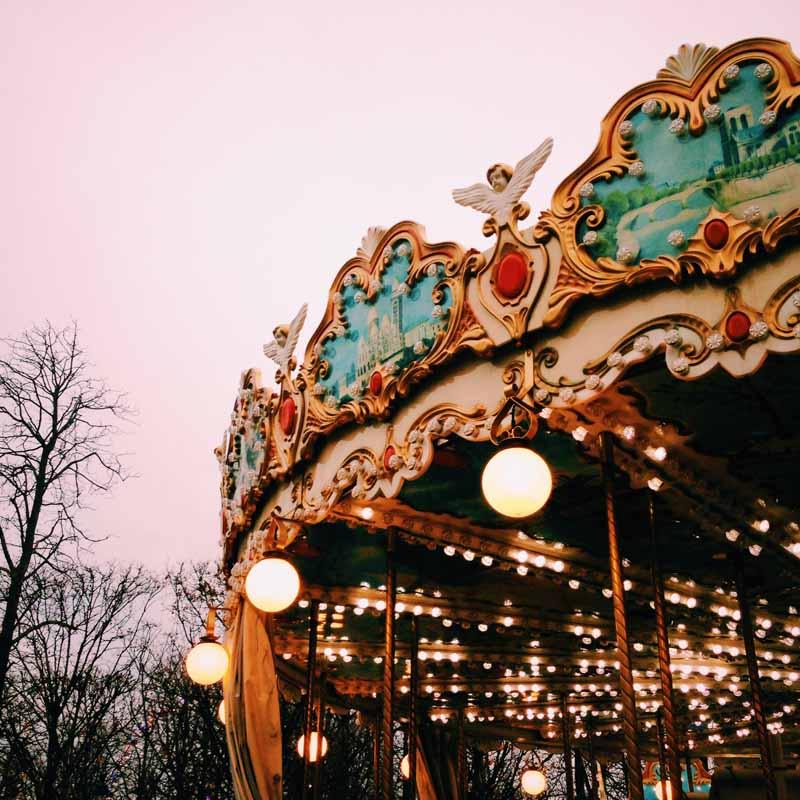 Paris art shopping Christmas blog review