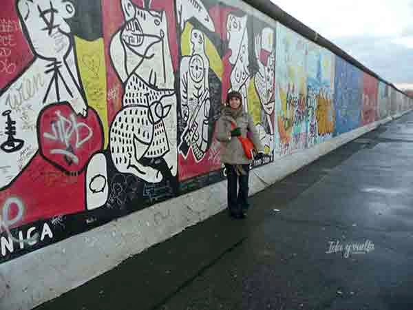 En la Eastside Gallery