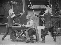 "Кадр из фильма Чарли Чаплина ""Пародия на Кармен"" / Burlesque on Carmen (1916) - 15"