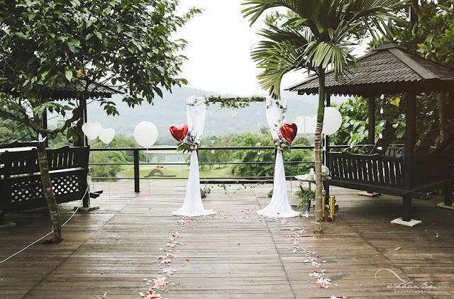 rainforest reserve wedding venue malaysia