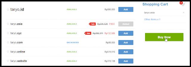 [Promo]Free Domain .ASIA menanti Anda 100% Gratiss tanpa syarat!