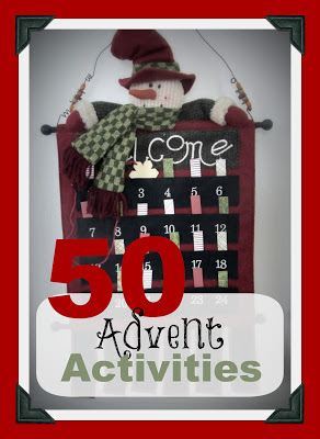 50 Advent countdown calendar ideas-The Unlikely Homeschool