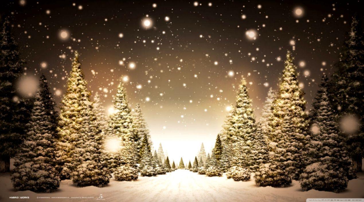 Hd Widescreen Christmas Desktop Wallpaper Background Wallpapers