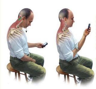 dibujo de posición correcta al sentarse