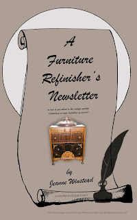 Book cover for A Furniture Refinisher's Newsletter
