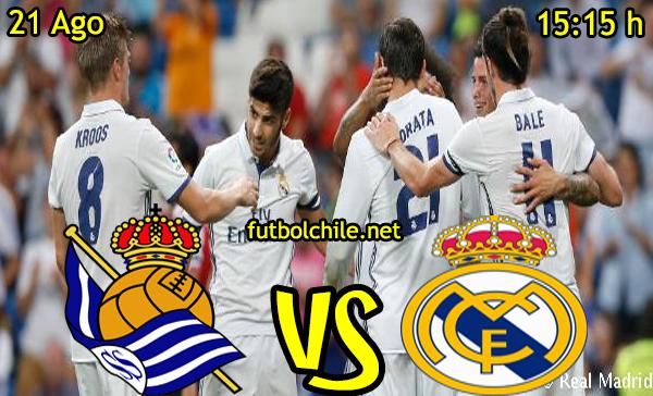 Ver stream hd youtube facebook movil android ios iphone table ipad windows mac linux resultado en vivo, online: Real Sociedad vs Real Madrid