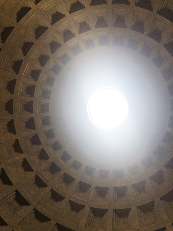 3 days in Rome - Pantheon - God's Eye