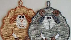 Ovejitas muy simpáticas al crochet: linda idea para regalar / con video paso a paso