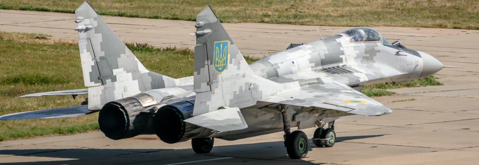 Повітряні Сили отримали черговий модернізований МіГ-29