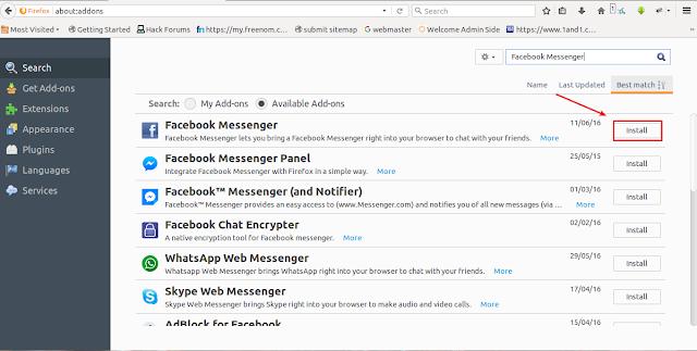 cara mudah chattingan tanpa buka facebook