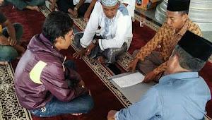 Pria Beragama Kristen Kelahiran Siantar Masuk Islam di Aceh Singkil