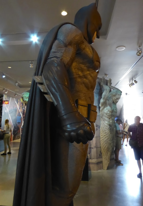 Batman v Superman grey Batsuit costume detail