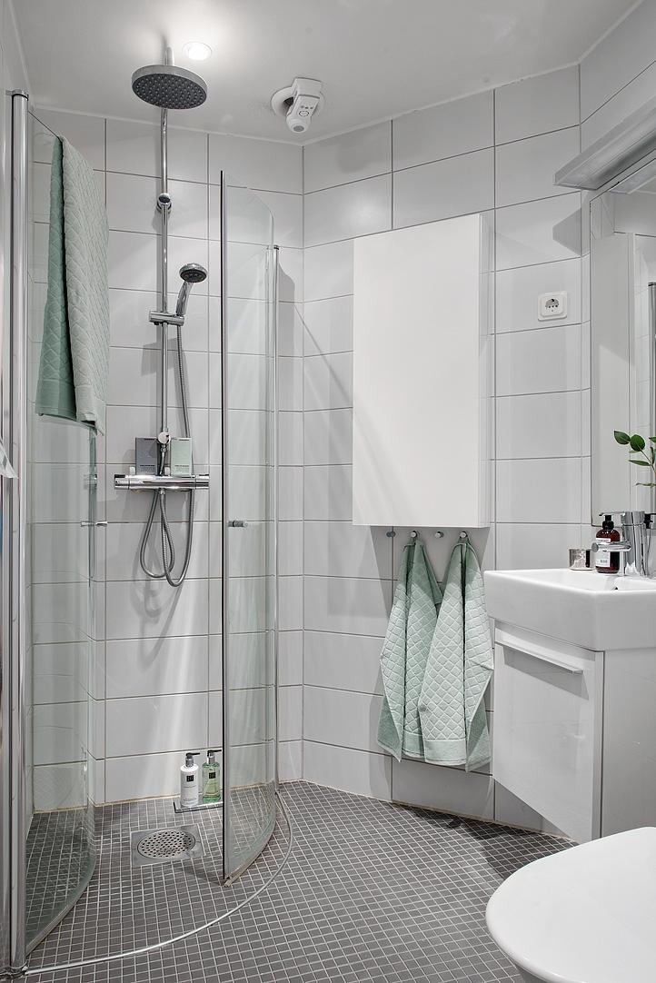 łazienka w stylu skandynawskim, jak urządzić małą łazienkę?