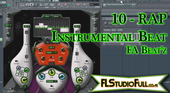 10 - RAP Instrumental Beat - FA Beat'z