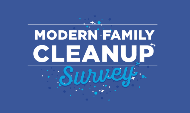 Modern Family Cleanup Survey