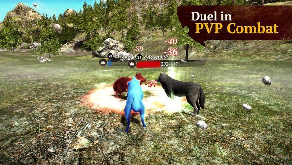 The Wolf MOD APK 1.7.1 Multiplayer RPG Open World
