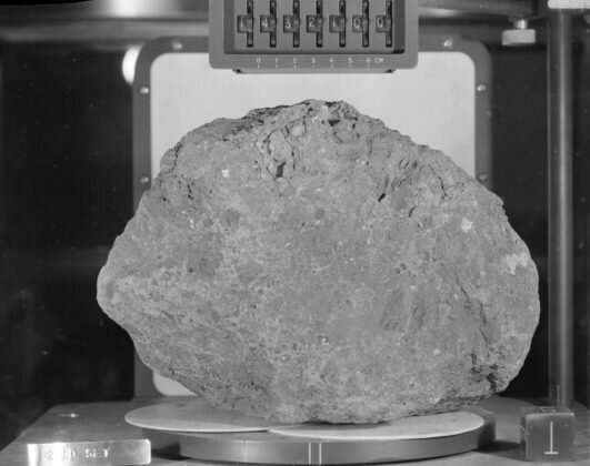 Lunar rock samples retrieved by astronauts almost 50 years ago likely originated on Earth