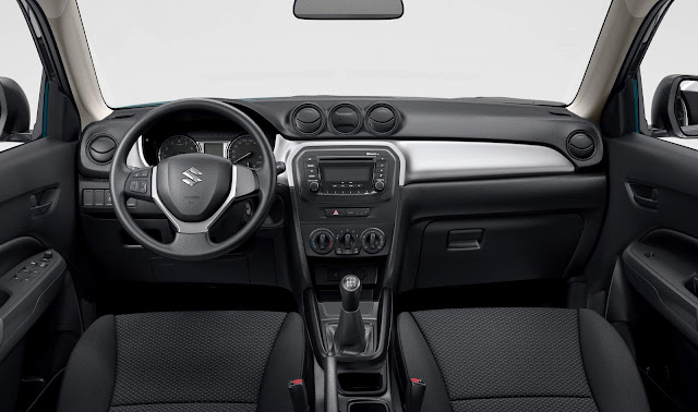 Suzuki Vitara 2017 - interior - 4 All