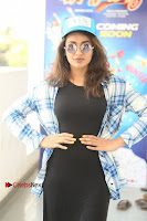 Actress Tejaswi Madivada Stills in Balck Long Dress at Babu Baga Busy Movie Interview  0017.jpg