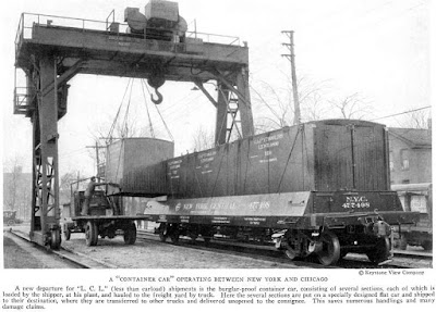 a type of early container car used by the New York Central.