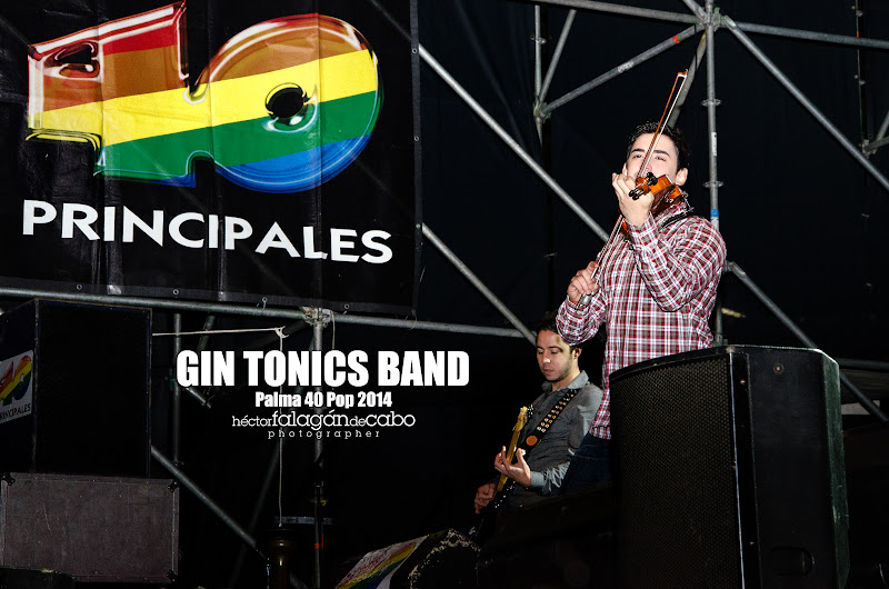 Gin Tonics Band en el Palma 40 Pop 2014. Héctor Falagán De Cabo | hfilms & photography.