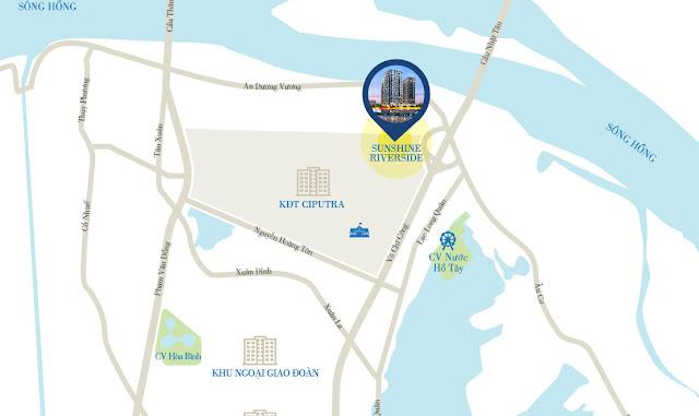 Dự án chung cư Sunshine Riverside Ciputra Tây Hồ