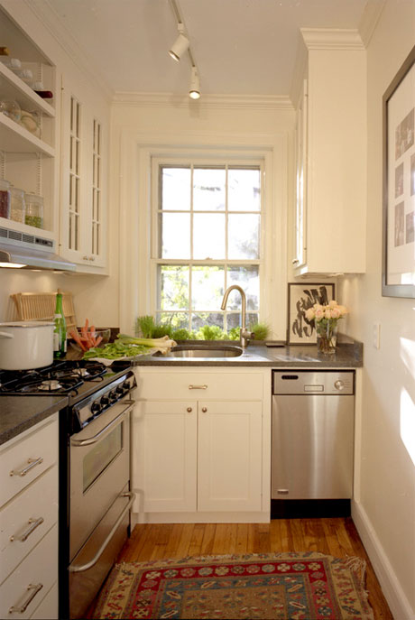 Very Narrow Galley Kitchen
