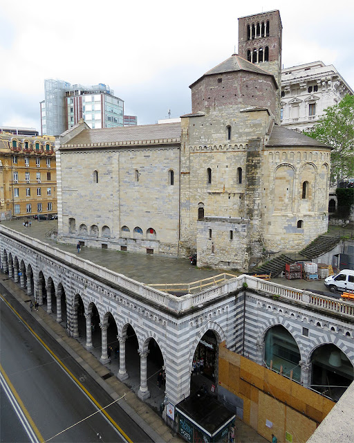 Church of Saint Stephen, Piazza di Santo Stefano, Genoa