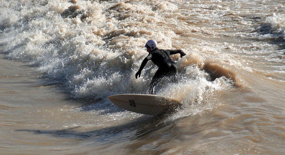 Surfeando en Navarra