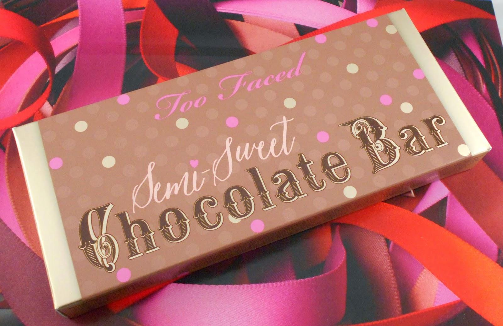 Too Faced Semi Sweet Chocolate Bar Palette