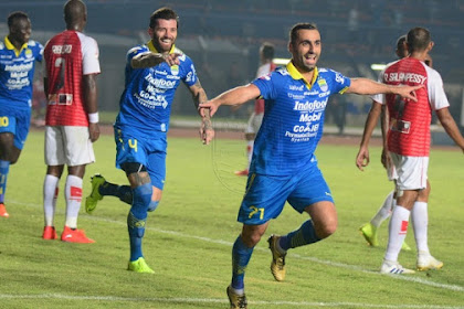 Hasil Pertandingan Shopee Liga 1, Persib 3 - 0 Persipura