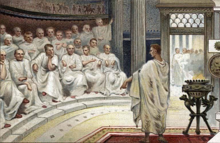 roman empire government - 768×502