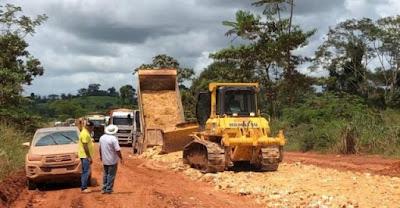 BR-163: bloqueio de caminhões em MT é ampliado até sexta-feira