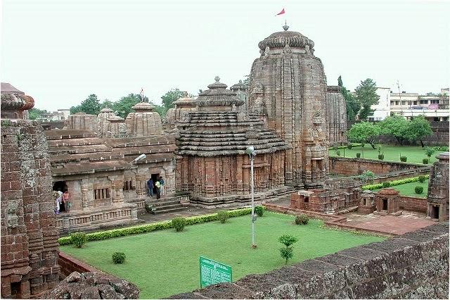Lingaraj Temple in Bhubaneswar ,Orissa