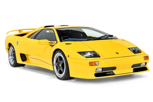 Lamborghini Diablo 1990s Italian supercar