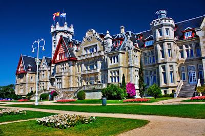 El Palacio de la Magdalena en Santander