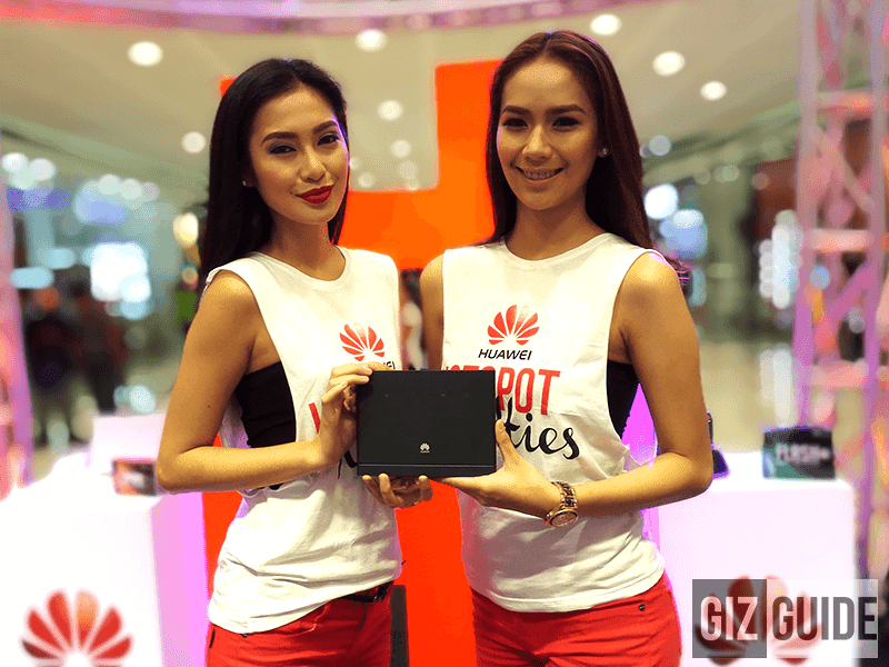 Huawei Launches Flash And Spark Pocket WiFi Devices Together With Lightning LTE CPE Router In The Philippines!
