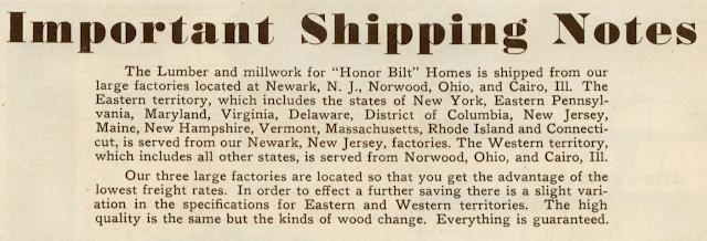 Sears Modern Homes catalog 1930