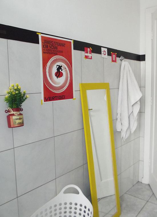 banheiro neon, cores no banheiro, espelho colorido, decoracao banheiro, bathroom decor, bathroom, banheiro