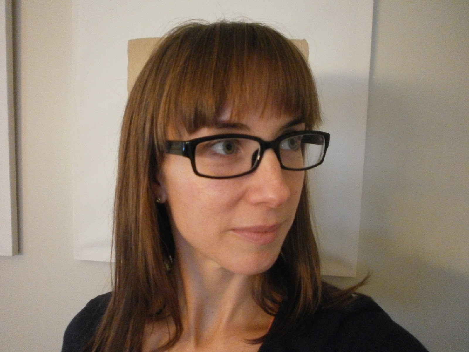 d14890ed66e I knew I wanted new black framed glasses and there was a huge selection!  This is what I ended up selecting…