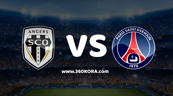 مشاهدة مباراة باريس سان جيرمان وانجيه بث مباشر